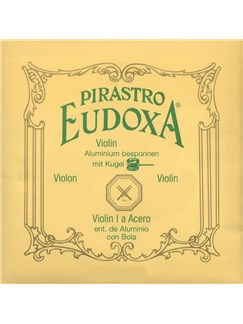 Pirastro: Eudoxa Steel Aluminium Violin String Set - Medium  | Violin