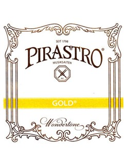 Pirastro Gold Wound Gut Core Viola String Set  | Viola