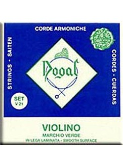 Dogal: Green Series Violin String Set (1/8-1/16)  | Violin