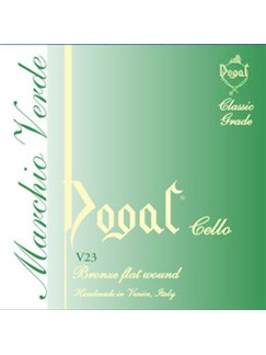 Dogal: Green Series 1/8-1/10 Cello C String  | Cello