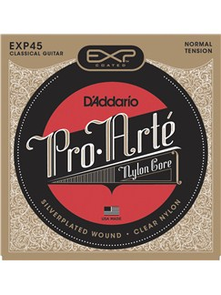 D'Addario EXP45: Classical Coated Guitar Strings - Normal Tension  | Guitar
