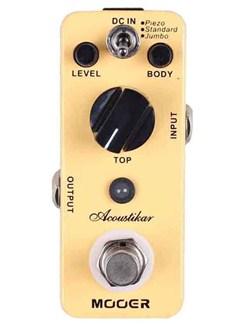 Mooer: Acoustikar - Acoustic Guitar Simulator Pedal  | Electric Guitar