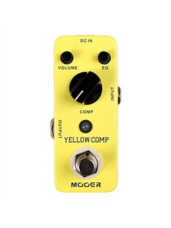 Mooer: Yellow Comp Optical Compressor Guitar Effects Pedal  |