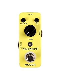 Mooer: Yellow Comp Optical Compressor Guitar Effects Pedal  | Guitar