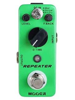 Mooer: Repeater - 3 Mode Digital Delay Pedal  | Electric Guitar