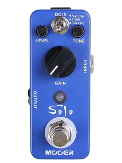 Mooer: Solo - Distortion Pedal  | Electric Guitar