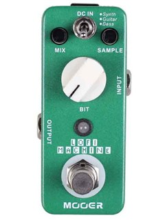Mooer: Lofi Machine - Sample Reducing Pedal  | Electric Guitar