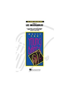 Alain Boublil/Claude-Michel Schonberg: Les Miserables - Highlights (Wind Band Set) Books | Big Band & Concert Band