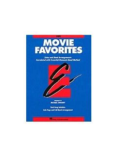 Essential Elements: Movie Favorites - Bb Tenor Saxophone Books | Tenor Saxophone