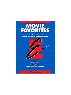 Essential Elements Movie Favorites - Baritone B.C. Books | Baritone Saxophone