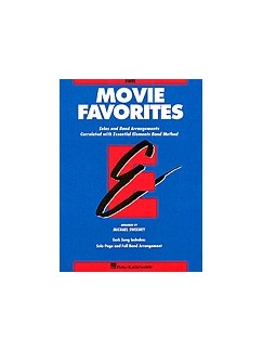 Essential Elements Movie Favorites - Eb Alto Clarinet Books | Alto Clarinet