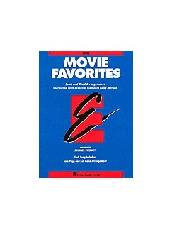Essential Elements Movie Favorites - Bb Clarinet Books | Clarinet