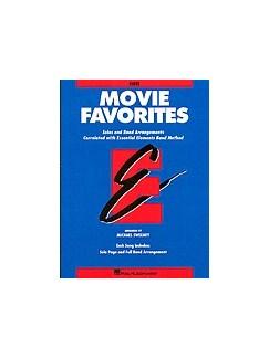 Essential Elements Movie Favorites - Eb Alto Saxophone Books | Alto Saxophone
