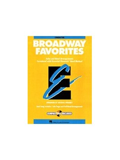 Essential Elements Broadway Favorites - Eb Baritone Saxophone Books | Baritone Saxophone