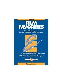 Essential Elements Film Favorites - Conductor (Book/CD) Books and CDs |