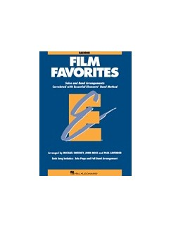 Essential Elements Film Favorites - Bassoon Books | Bassoon
