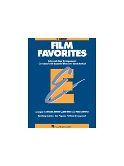 Essential Elements Film Favorites - Clarinet Books | Clarinet