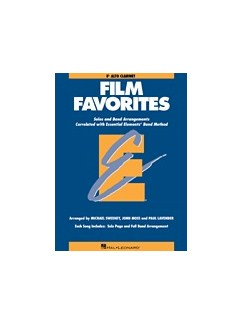 Essential Elements Film Favorites - Alto Clarinet Books | Clarinet