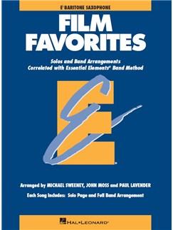 Essential Elements Film Favorites - Baritone Saxophone Books | Baritone Saxophone