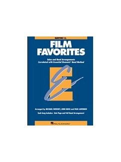 Essential Elements Film Favorites - Baritone T.C. Books | Baritone Saxophone