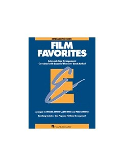 Essential Elements Film Favorites - Keyboard Percussion Books | Keyboard