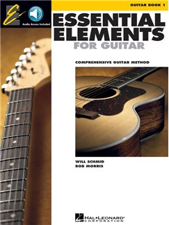 Essential Elements For Guitar - Book 1 (Book/Online Audio) Books and Digital Audio | Guitar