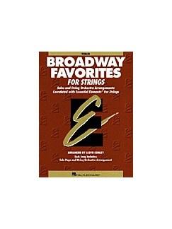Essential Elements: Broadway Favorites For Strings – Violin 1/2 Books | Violin