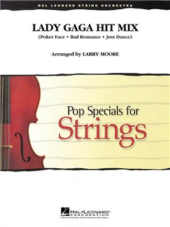 Lady Gaga Hit Mix Books | String Orchestra