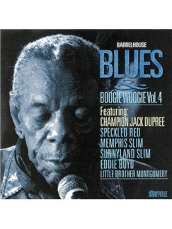 'Champion' Jack Dupree: Barrelhouse Blues & Boogie Woogie Vol 4 CDs |
