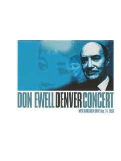 Don Ewell: Denver Concert With Barbara Dane CDs |