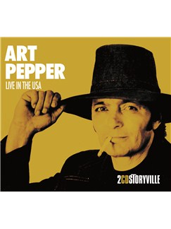 Art Pepper: Live In USA CDs |