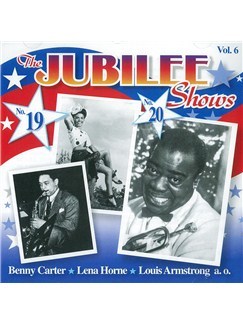 Benny Carter: The Jubilee Shows No. 19 & 20 CDs |