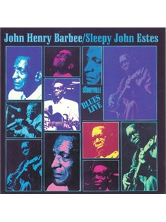 'Sleepy' John Estes/John Henry: Blues Live! CDs |