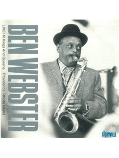 Ben Webster: Live At Kings And Queens Providence, Rhode Island CDs |