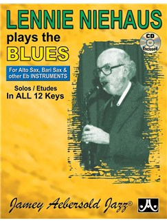 Lennie Niehaus Plays The Blues (Eb) Books and CDs | All Instruments