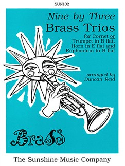 Nine by Three: Brass Trios Books | Brass Trio