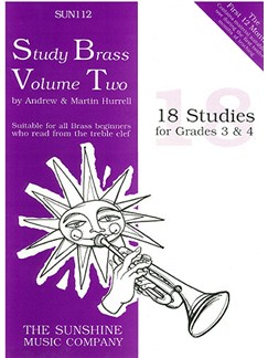 Study Brass Volume 2 Books | Trumpet