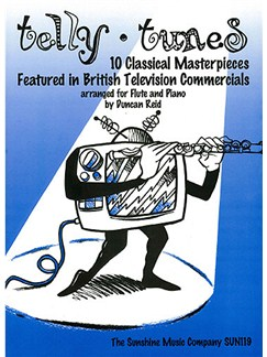 Telly Tunes Books | Flute, Piano Accompaniment