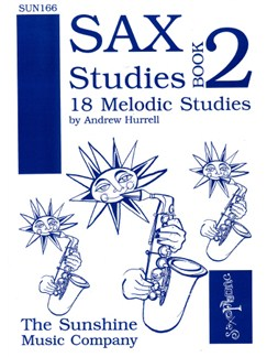 Andrew Hurrell: Saxophone Studies Book Two Books | Saxophone