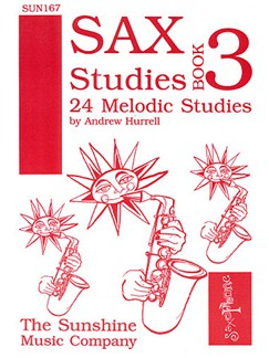 Saxophone Studies Book 3 Books | Saxophone