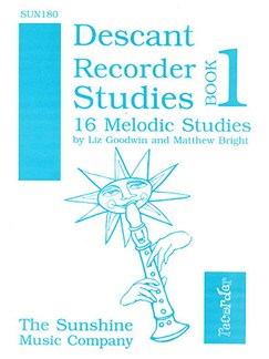 Descant Recorder Studies Book 1 Books | Recorder