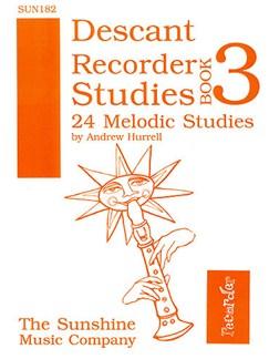 Descant Recorder Studies Book 3 Books | Recorder