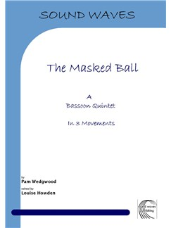 Pam Wedgwood: The Masked Ball - Bassoon Quintet Books | Bassoon