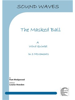 Pam Wedgwood: The Masked Ball - Woodwind Quintet Books | Wind Quintet