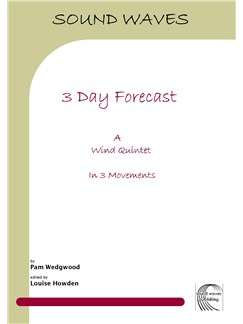 Pam Wedgwood: 3 Day Forecast Books | Wind Quintet