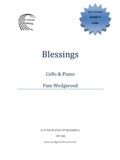 Pam Wedgwood: Blessings - Cello/Piano Books | Cello, Piano Accompaniment