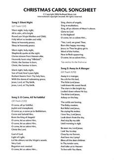 Sheila Wilson: Christmas Carols (Songsheet) Books | Voice