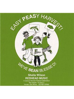 Sheila Wilson: Easy Peasy Harvest (Backing CD) CDs |