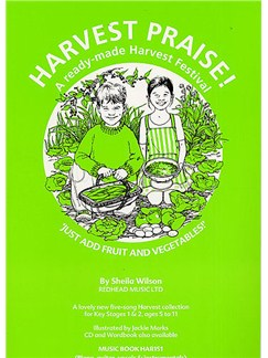Sheila Wilson: Harvest Praise! (Music Book) Books | Piano, Voice, Guitar (Chord Symbols)