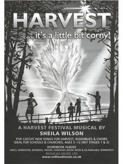 Sheila Wilson: Harvest... It's A Little Bit Corny! - Word Book Livre | Voix
